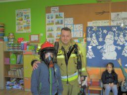 Spotkanie z panem strażakiem