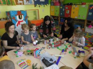 Warsztaty świąteczne w przedszkolu